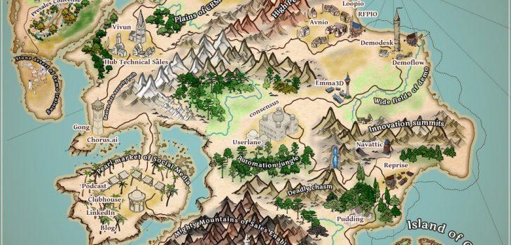 Sales Engineering Application Fantasy Map