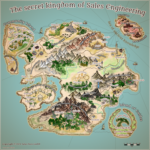 The fantastic map of Sales Engineering software applications